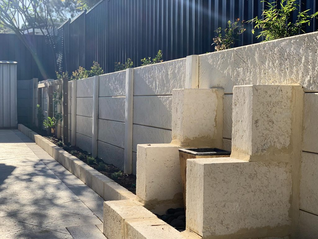 Landscape installed in Carine